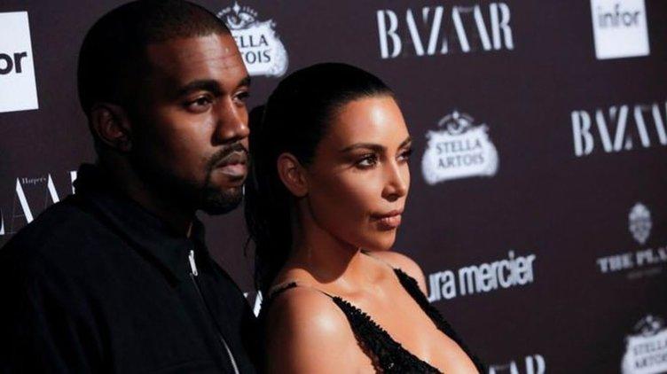 Kim Kardashian evi terk etti!
