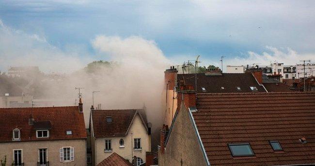 Fransa'nın Dijon şehrinde patlama! Yaralılar var..