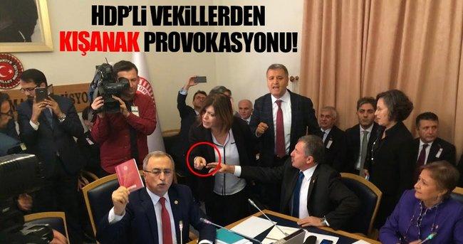 HDP'Lİ VEKİLLER DARBE KOMİSYONUNU KARIŞTIRDILAR!
