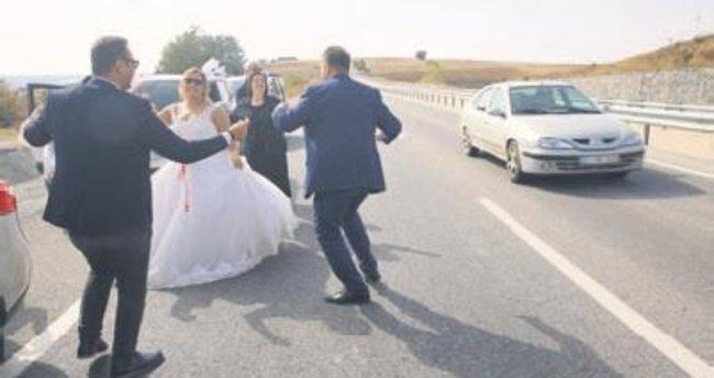 Edirne'den İstanbul'a düğün alayı