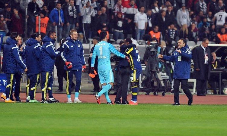 Beşiktaş - Fenerbahçe maçının fotoğrafları
