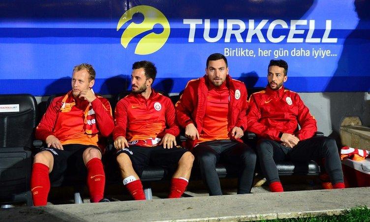 Çaykur Rizespor-Galatasaray maçından kareler