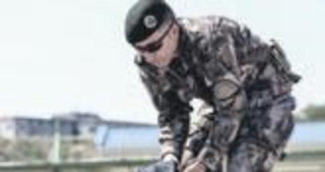 AA muhabirlerine savaş eğitimi
