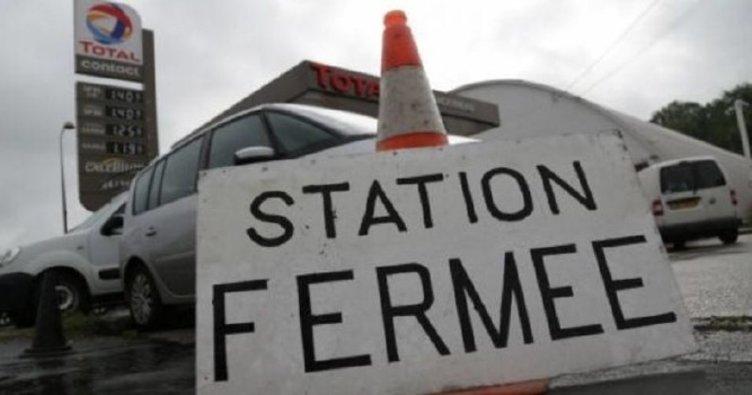 Fransa'da istasyonlar yakıtsız kaldı