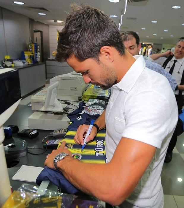 Diego Şükrü Saracoğlu'da