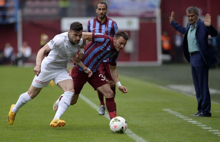 Trabzonspor - Bursaspor maçının fotoğrafları