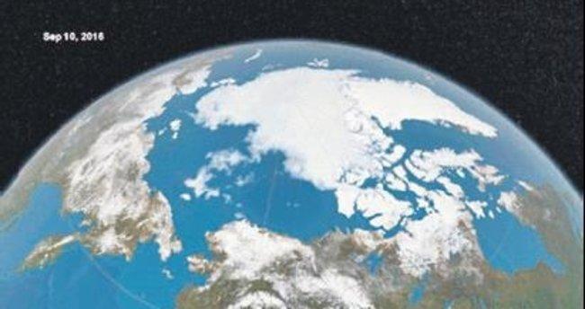 Buzullar en düşük ikinci seviyede