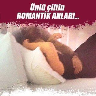 Zuhal Olcay ve Mazlum Çimen'in romantik anları