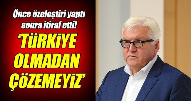 Türkiye bizim için anahtar ülke