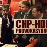 Meclis'te CHP/HDP provokasyonu