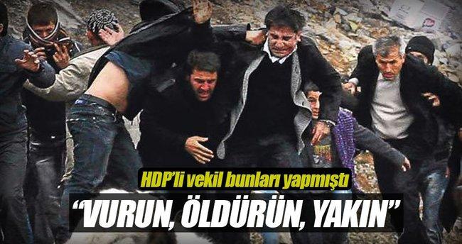 En ağır suçlama o HDP'li vekile'