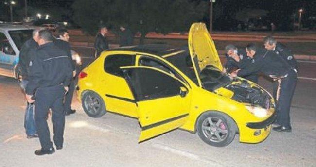 Alkollü sürücü polisi peşine taktı
