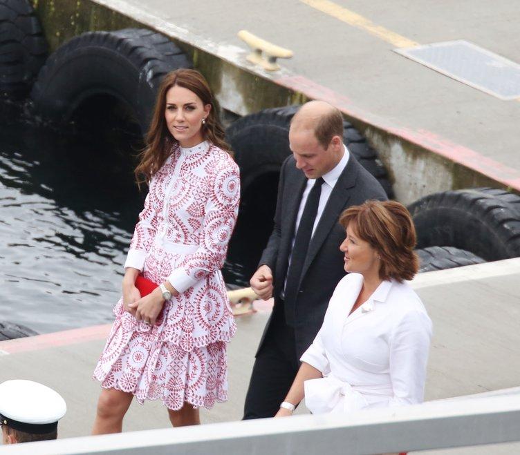 İki çocuk annesi Kate Middleton'ın inceliğinin sırrı