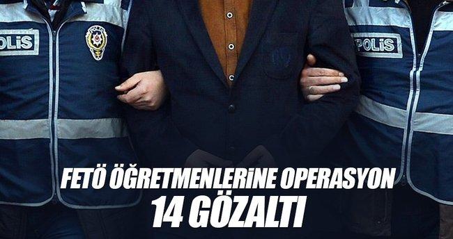 Adana ve Maraş'ta öğretmen operasyonu: 14 gözaltı
