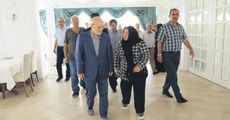 Şehit ve gazi aileleri Beykoz'da ağırlandı