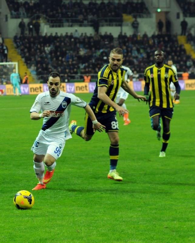 K. Erciyesspor - Fenerbahçe maçının fotoğrafı