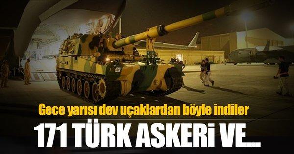 Türkiye'den Katar'a askeri sevkiyat! Böyle karşılandılar...
