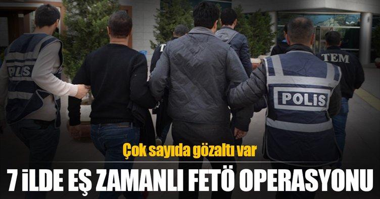 FETÖ'nün sözde Gaziemir eyaletine operasyon