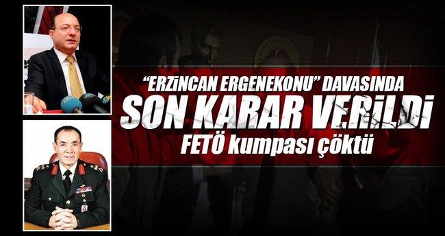 'Erzincan kumpası'nda son karar: Beraat