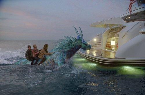 Percy Jackson: Canavarlar Denizi filminden kareler