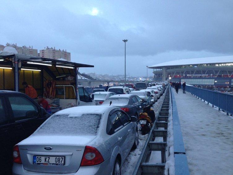Galatasaray Stadı'nda rezillik