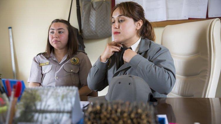 Ormanların 'kadın korumaları'