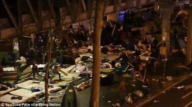 Paris'te göçmenlere orantısız güç