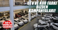 Otomobilde 'ÖTV ve kur farkı bizden' yarışı