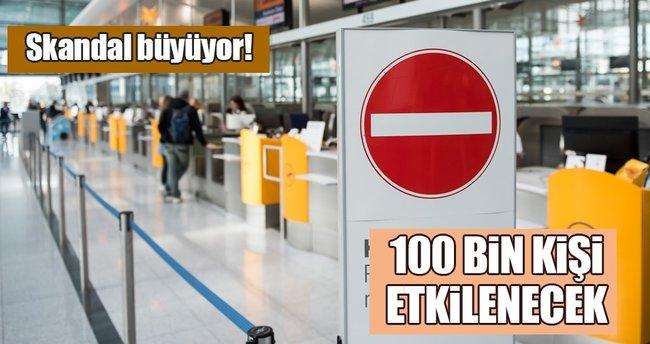 Lufthansa'daki grev devam ediyor
