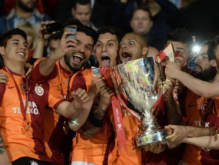 Ziraat Türkiye Kupası'nı Galatasaray' kazandı