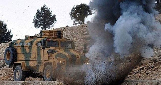 Mardin'de yola tuzaklanan patlayıcı bulundu
