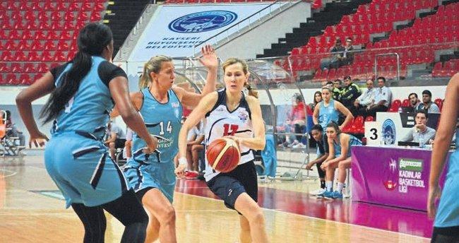 Kayseri'de ilk mağlubiyet