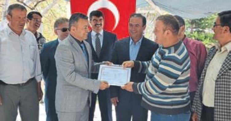 Biçerdöver operatör kursu sertifika verdi