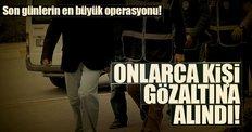 Kocaeli'de FETÖ/PDY operasyonu: 56 gözaltı