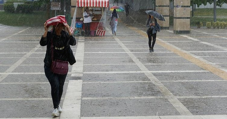 İstanbul ve Marmara'nın doğusunda kuvvetli yağış bekleniyor