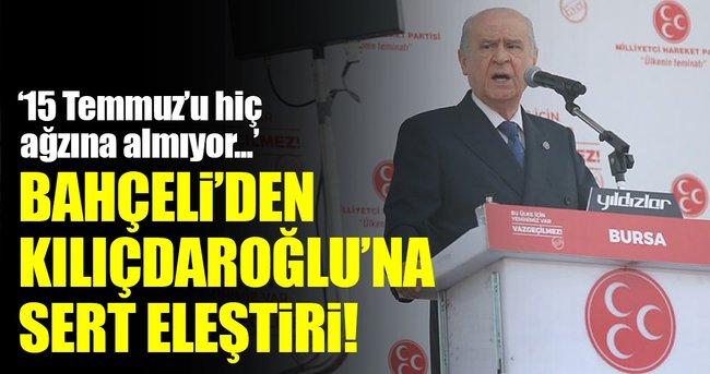 BAHÇELİ'DEN KILIÇDAROĞLU'NA SERT ELEŞTİRİ!