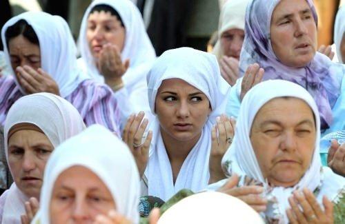 Srebrenitsa kurbanları anılıyor