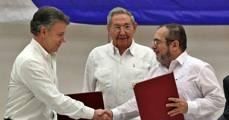 Türkiye'nin Kolombiya'da yaptırdığı okulu Devlet Başkanı Santos açtı