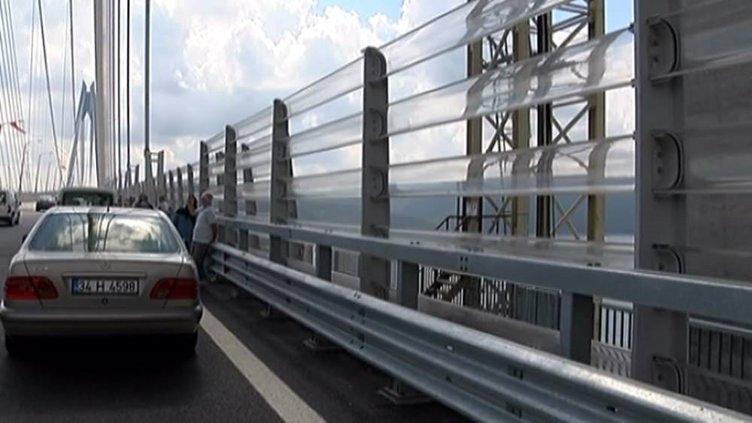 Yavuz Sultan Selim Köprüsü'nde intihar önlemi