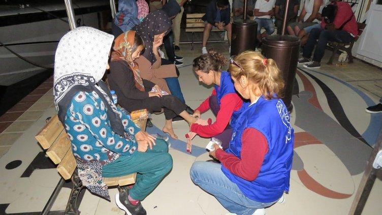 Çanakkale'de 17 yabancı uyruklu yakalandı