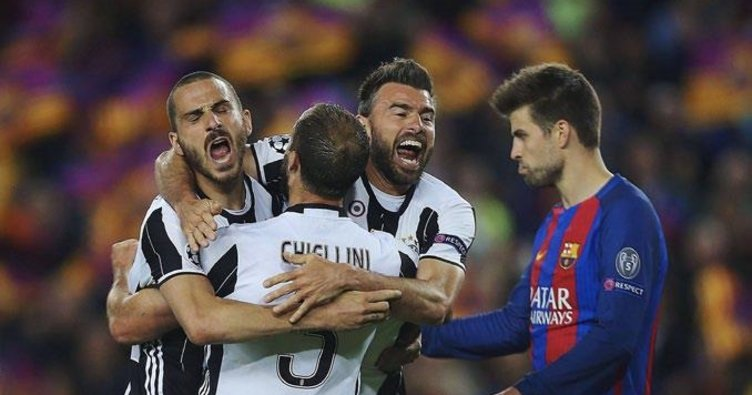 Barcelona çekirgesi Juventus önünde zıplamadı