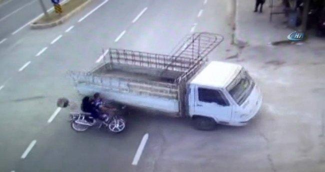 Tunceli'deki ölümlü kaza kamerada