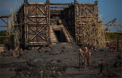 Nuh: Büyük Tufan filminden kareler
