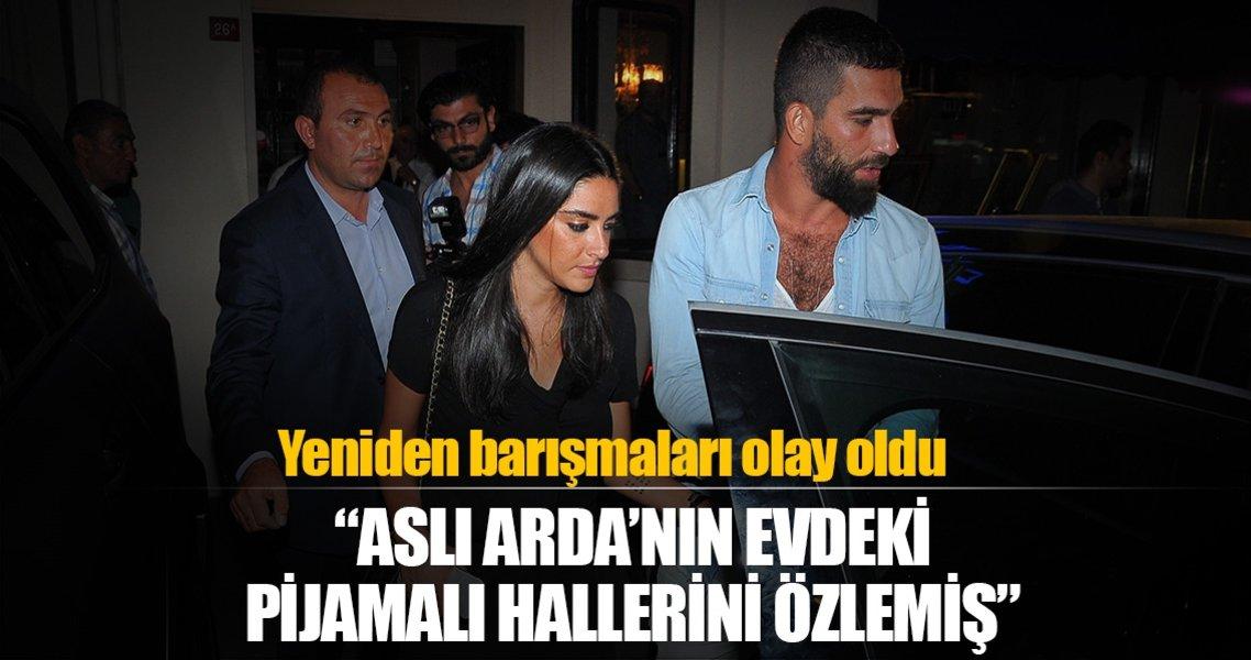 Arda Turan ile Aslıhan Doğan'ın yeniden barışması olay oldu