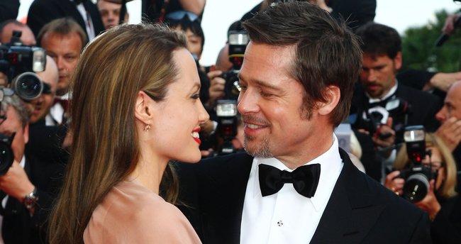 Oğlu Brad Pitt'i görmek istemiyor!