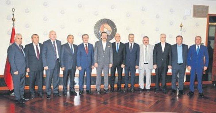 Ali Bahar yeniden OSBÜK yönetiminde