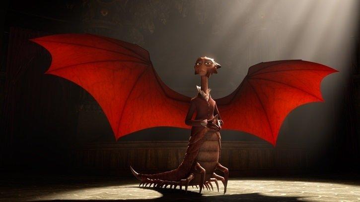 Sevimli Canavarlar Üniversitesi filminden kareler