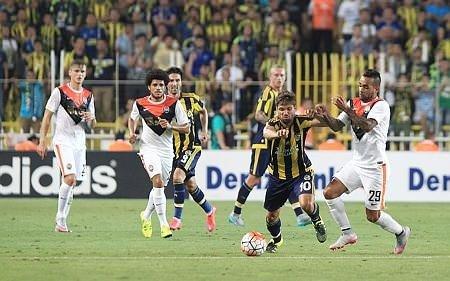Fenerbahçe - Shakhtar Donetsk maçı Twitter'ı salladı