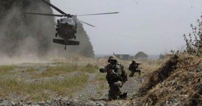 Hakkari kırsalında 9 terörist öldürüldü