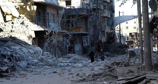 Halep'te son bir haftada bin kişi hayatını kaybetti!